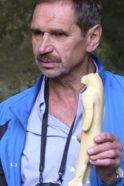 Gästeführer und Archäoparkgiude Hermann Häußler